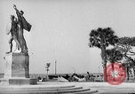 Image of Battery Point statue Charleston South Carolina USA, 1939, second 1 stock footage video 65675054132