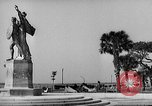 Image of Battery Point statue Charleston South Carolina USA, 1939, second 2 stock footage video 65675054132