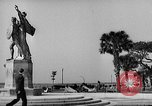 Image of Battery Point statue Charleston South Carolina USA, 1939, second 3 stock footage video 65675054132