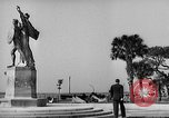 Image of Battery Point statue Charleston South Carolina USA, 1939, second 6 stock footage video 65675054132