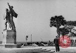 Image of Battery Point statue Charleston South Carolina USA, 1939, second 7 stock footage video 65675054132