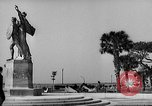 Image of Battery Point statue Charleston South Carolina USA, 1939, second 10 stock footage video 65675054132