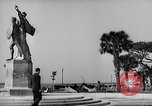 Image of Battery Point statue Charleston South Carolina USA, 1939, second 11 stock footage video 65675054132
