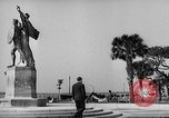 Image of Battery Point statue Charleston South Carolina USA, 1939, second 12 stock footage video 65675054132