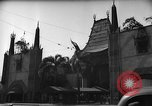Image of Chinese Theater Hollywood Los Angeles California USA, 1939, second 3 stock footage video 65675054136