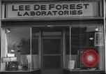 Image of Lee De Forest Laboratories Hollywood Los Angeles California USA, 1939, second 6 stock footage video 65675054137