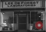 Image of Lee De Forest Laboratories Hollywood Los Angeles California USA, 1939, second 7 stock footage video 65675054137