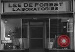 Image of Lee De Forest Laboratories Hollywood Los Angeles California USA, 1939, second 8 stock footage video 65675054137