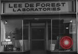 Image of Lee De Forest Laboratories Hollywood Los Angeles California USA, 1939, second 9 stock footage video 65675054137