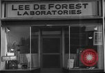 Image of Lee De Forest Laboratories Hollywood Los Angeles California USA, 1939, second 10 stock footage video 65675054137