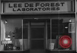 Image of Lee De Forest Laboratories Hollywood Los Angeles California USA, 1939, second 11 stock footage video 65675054137