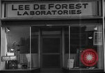 Image of Lee De Forest Laboratories Hollywood Los Angeles California USA, 1939, second 12 stock footage video 65675054137