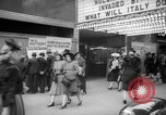 Image of newspaper stalls New York City USA, 1940, second 2 stock footage video 65675054141