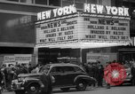 Image of Embassy Newsreel Theater New York City USA, 1940, second 3 stock footage video 65675054142