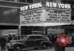 Image of Embassy Newsreel Theater New York City USA, 1940, second 6 stock footage video 65675054142