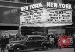Image of Embassy Newsreel Theater New York City USA, 1940, second 7 stock footage video 65675054142