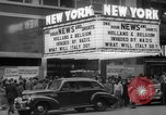 Image of Embassy Newsreel Theater New York City USA, 1940, second 8 stock footage video 65675054142