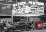 Image of Embassy Newsreel Theater New York City USA, 1940, second 9 stock footage video 65675054142