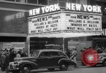 Image of Embassy Newsreel Theater New York City USA, 1940, second 10 stock footage video 65675054142