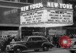 Image of Embassy Newsreel Theater New York City USA, 1940, second 11 stock footage video 65675054142