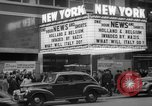 Image of Embassy Newsreel Theater New York City USA, 1940, second 12 stock footage video 65675054142