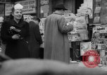 Image of newspaper stalls New York City USA, 1940, second 3 stock footage video 65675054143