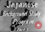 Image of Japanese culture Japan, 1942, second 10 stock footage video 65675054152
