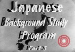 Image of Japanese culture Japan, 1942, second 12 stock footage video 65675054152