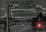 Image of better community Georgia United States USA, 1946, second 3 stock footage video 65675054177