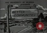 Image of better community Georgia United States USA, 1946, second 5 stock footage video 65675054177