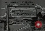 Image of better community Georgia United States USA, 1946, second 7 stock footage video 65675054177