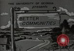 Image of better community Georgia United States USA, 1946, second 8 stock footage video 65675054177