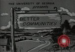 Image of better community Georgia United States USA, 1946, second 9 stock footage video 65675054177