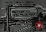 Image of better community Georgia United States USA, 1946, second 10 stock footage video 65675054177