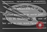 Image of Katherine Stubergh Los Angeles California USA, 1932, second 1 stock footage video 65675054201