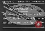 Image of Katherine Stubergh Los Angeles California USA, 1932, second 2 stock footage video 65675054201