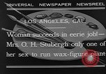 Image of Katherine Stubergh Los Angeles California USA, 1932, second 5 stock footage video 65675054201