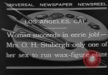 Image of Katherine Stubergh Los Angeles California USA, 1932, second 6 stock footage video 65675054201