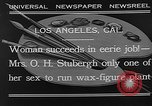 Image of Katherine Stubergh Los Angeles California USA, 1932, second 7 stock footage video 65675054201