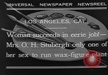 Image of Katherine Stubergh Los Angeles California USA, 1932, second 8 stock footage video 65675054201