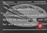 Image of Katherine Stubergh Los Angeles California USA, 1932, second 9 stock footage video 65675054201