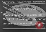Image of Katherine Stubergh Los Angeles California USA, 1932, second 10 stock footage video 65675054201