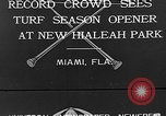 Image of Hialeah Park Miami Florida USA, 1932, second 1 stock footage video 65675054203