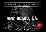 Image of sugar cane cutter New Roads Louisiana USA, 1938, second 3 stock footage video 65675054206