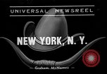 Image of rodeo New York City USA, 1938, second 4 stock footage video 65675054207