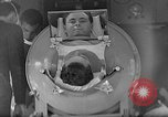 Image of Polio victim Fred Snite Chicago Illinois USA, 1938, second 7 stock footage video 65675054208
