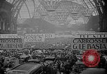Image of automobile show Paris France, 1938, second 5 stock footage video 65675054209