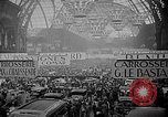 Image of automobile show Paris France, 1938, second 6 stock footage video 65675054209