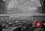 Image of automobile show Paris France, 1938, second 7 stock footage video 65675054209