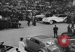 Image of automobile show Paris France, 1938, second 9 stock footage video 65675054209